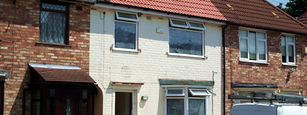 Housing regeneration funded by NHCF
